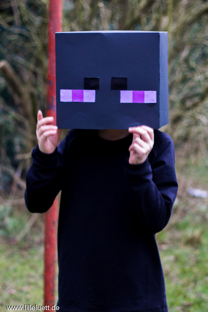 Block + Block = 2 Kostüme - Minecraft Faschingskostüme - Enderman & Creeper
