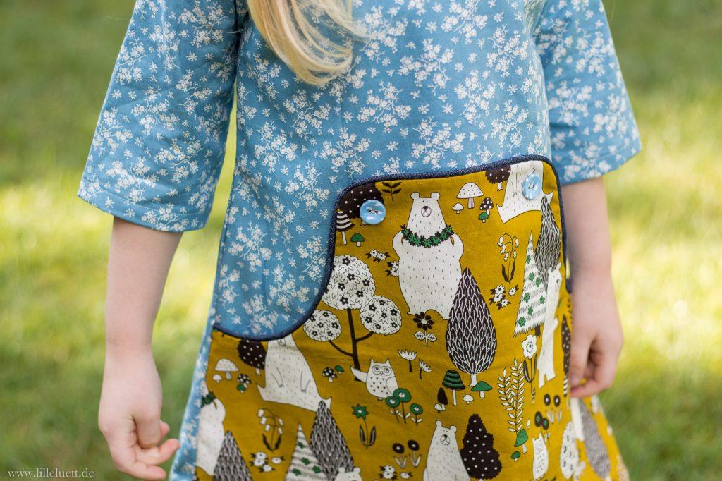 Louisa Dress Kids - Kinderkleid Schnittmuster - Compagnie M