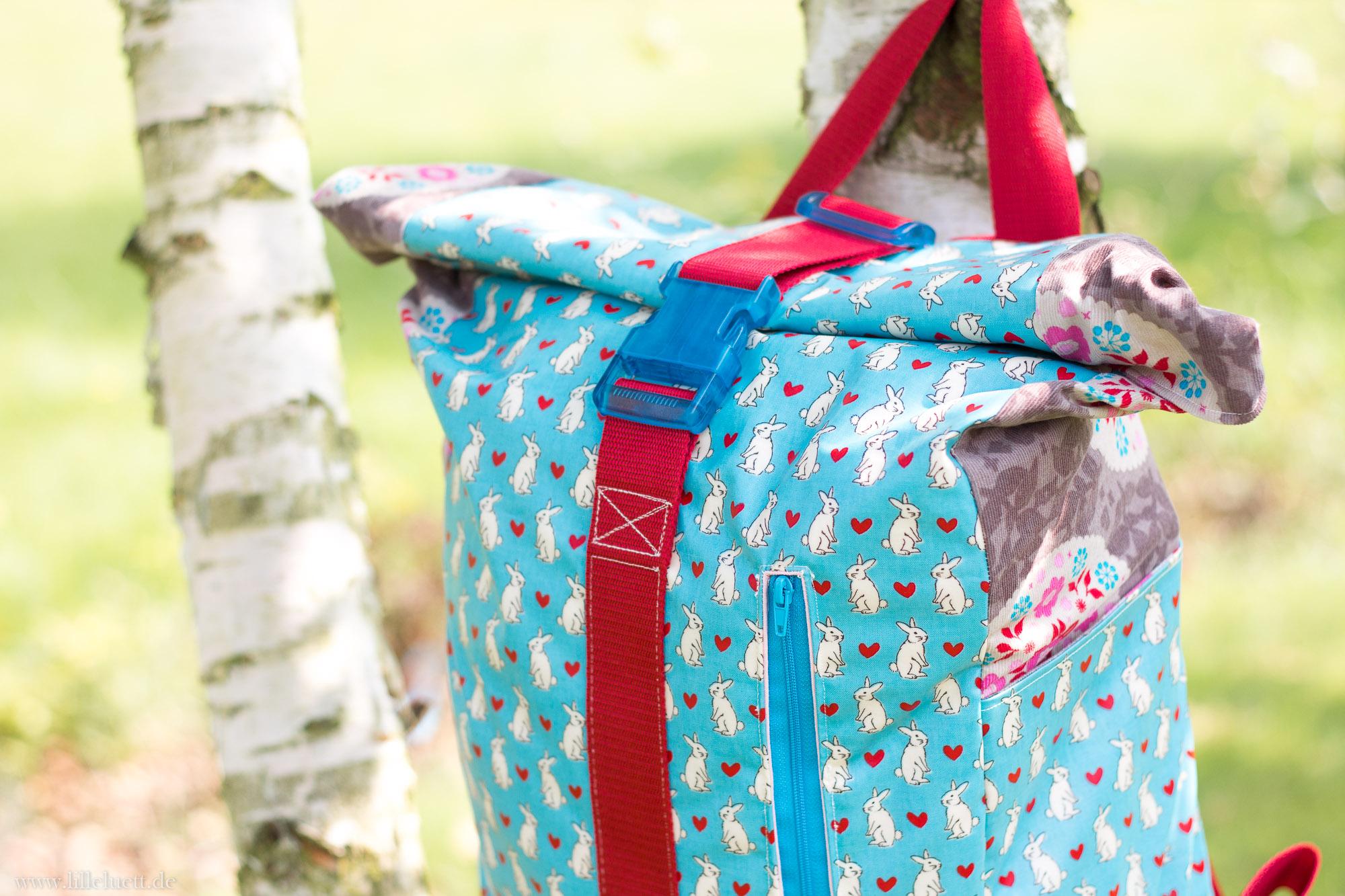 Rucksack nähen - neues Schnittmuster - Rucksack No. 1 von Annimamia