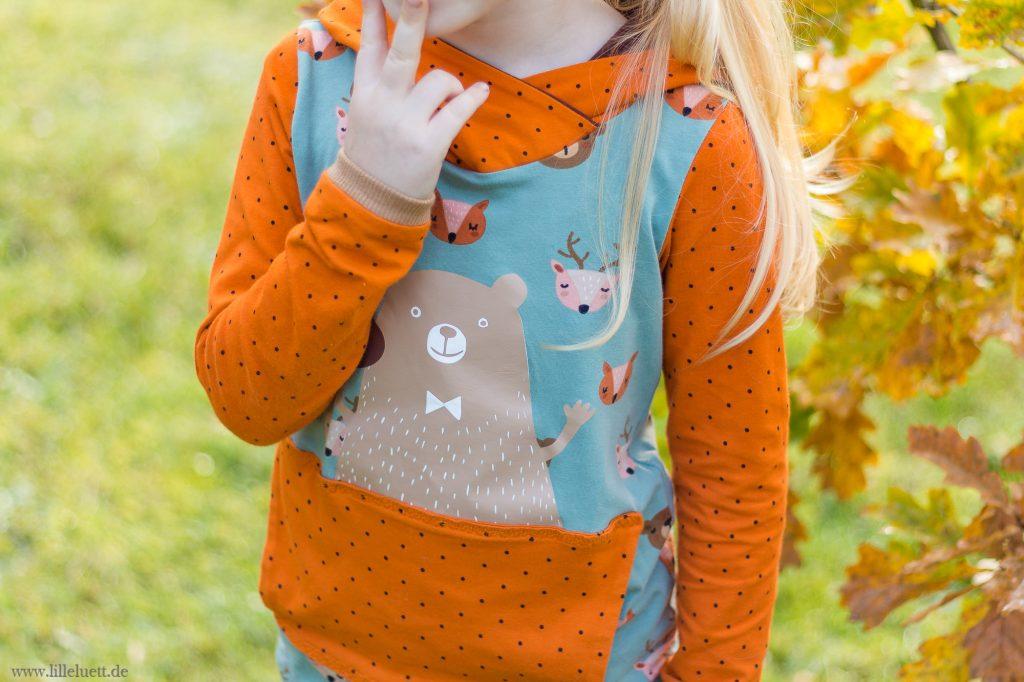 Neues Hoodie Schnittmuster Für Kids - De Lütte Trööje Kids