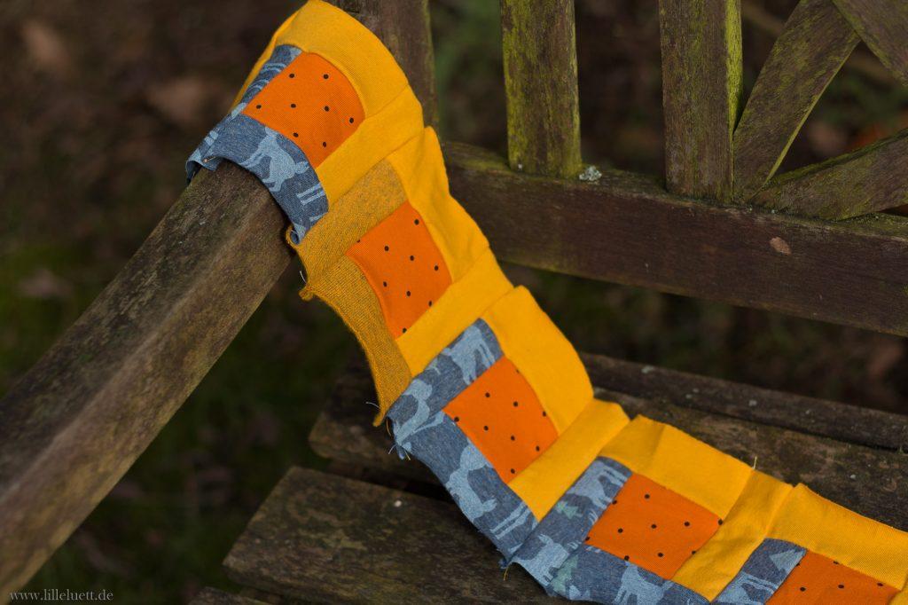 Meine Jersey Patchwork Block Decke - Februar - Bright Hopes