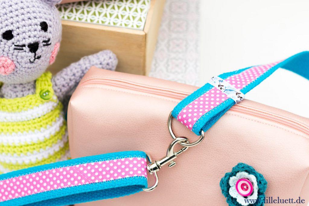 Eine Hüfttasche – Mein 7. Beitrag zum Farbenmix – Taschenspieler – 4 – Sew Along - Hüft Tasche